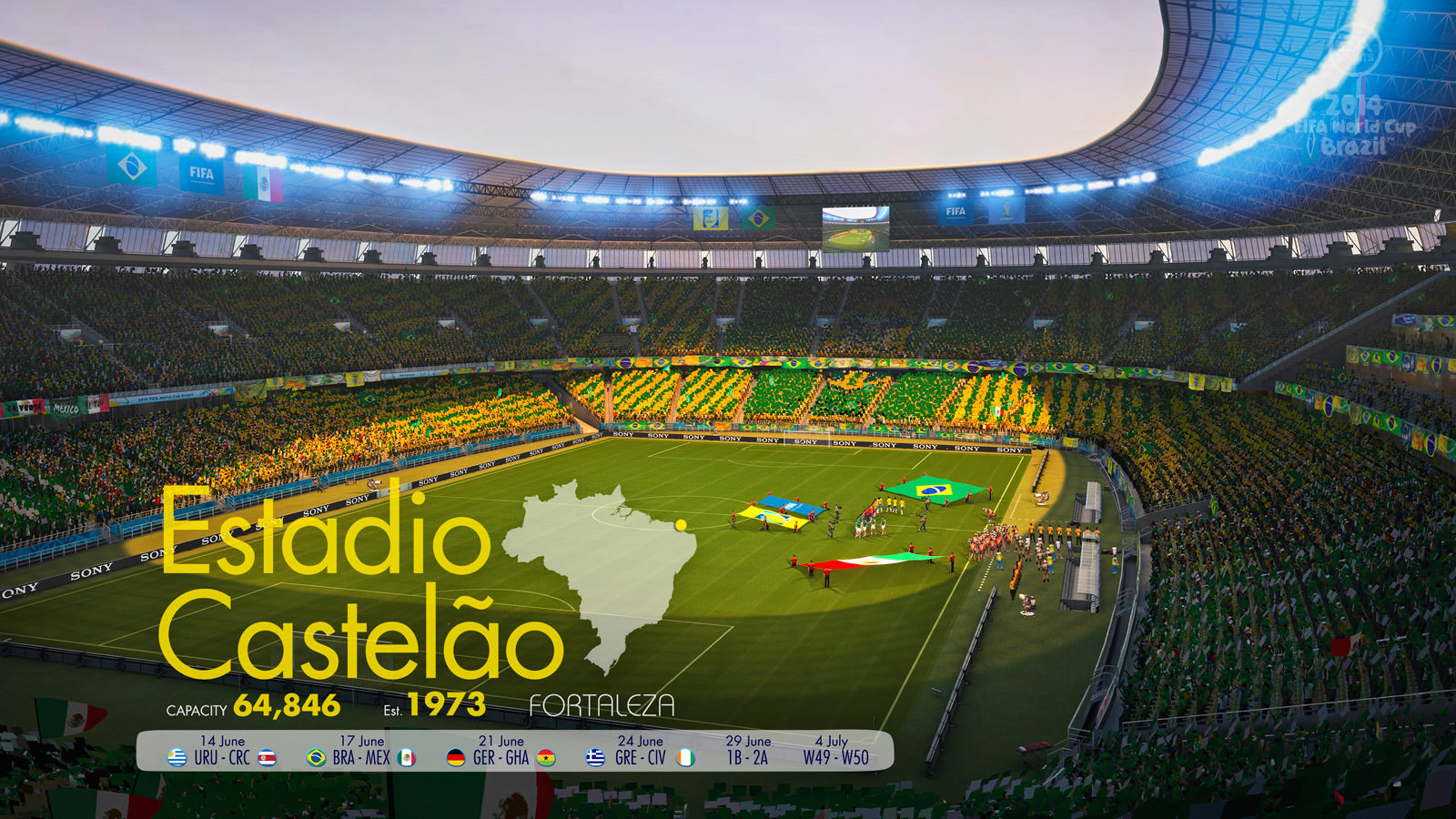 fifa world cup 2014 in brazil History of 2014 fifa world cup: football 2014 brazil world cup winner (germany) and runner-up (argentina) know all about brazil world cup 2014, goals scored, qualified team, matches played in the .