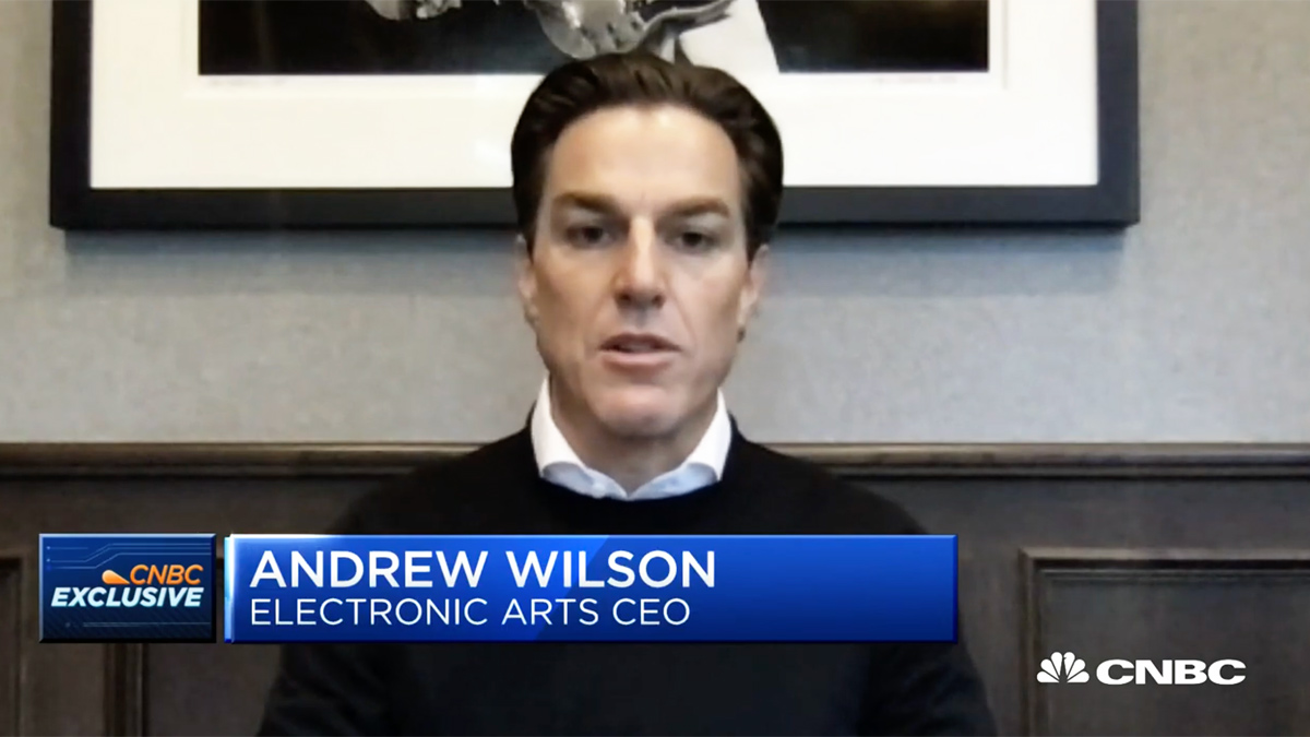 Interview with EA CEO, Andrew Wilson on Demand for EA Games during the COVID-19