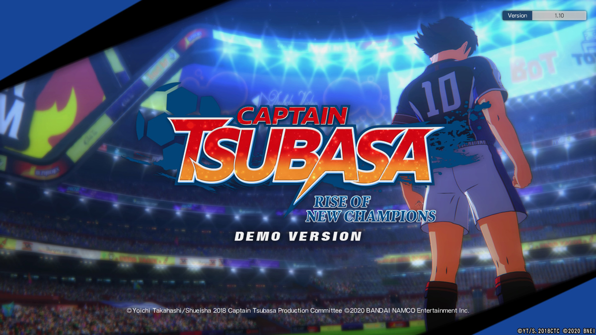 Captain Tsubasa: Rise of New Champions Demo