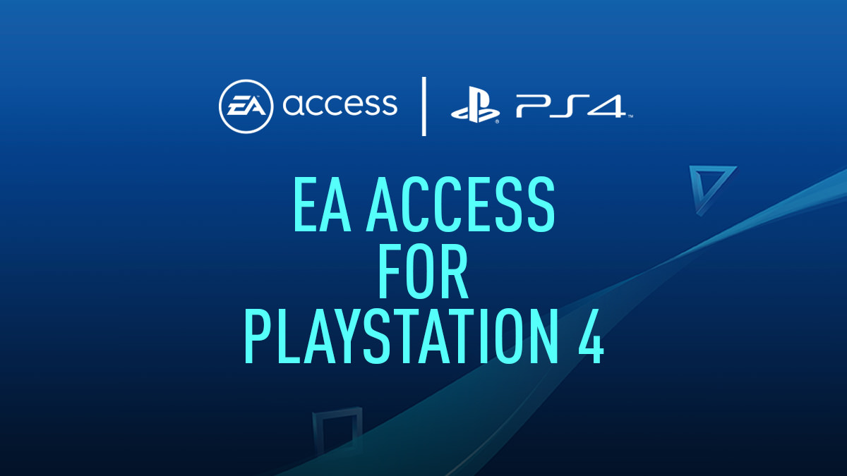 EA Access for PlayStation 4
