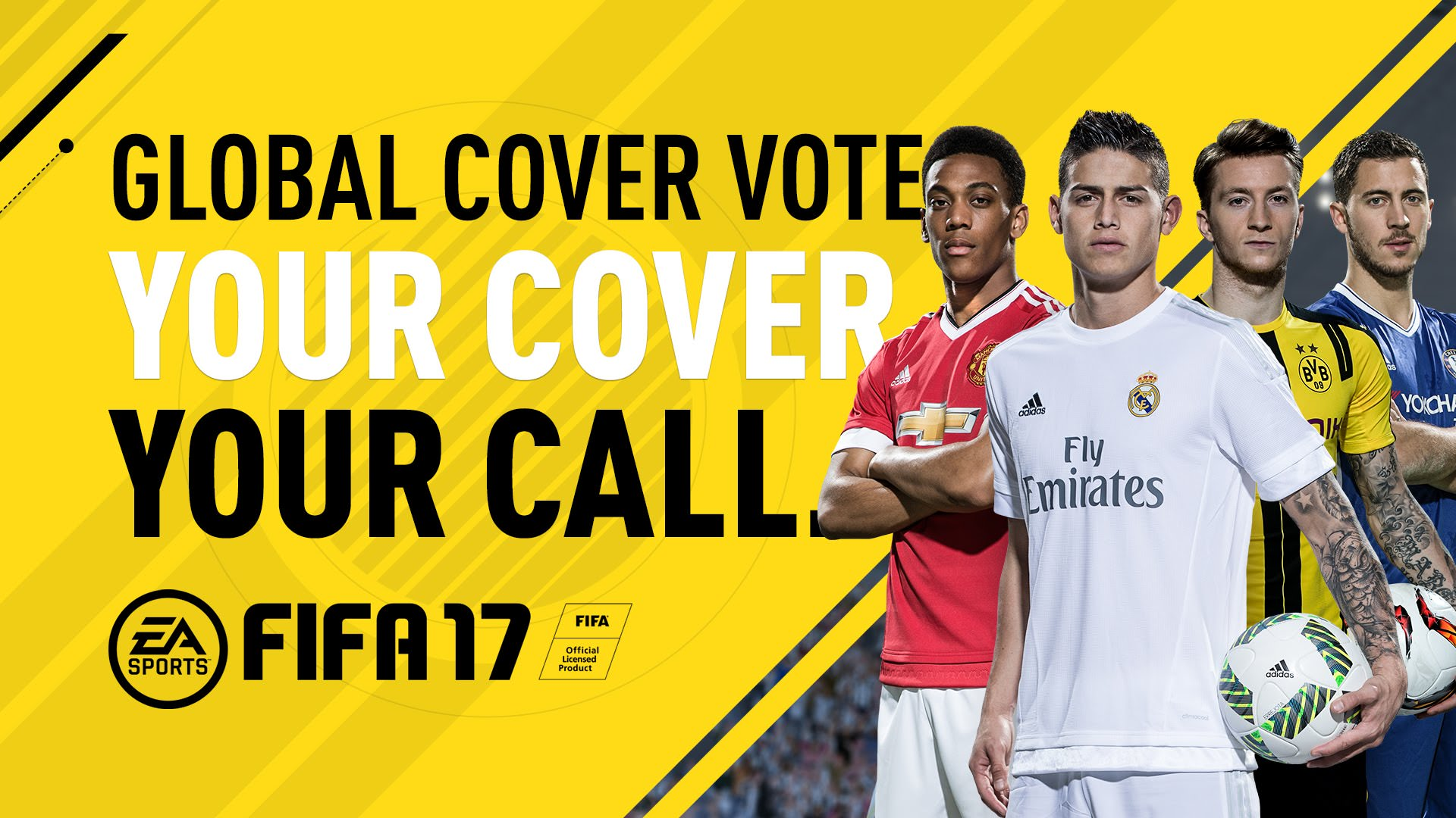 Vote for FIFA 17 Cover