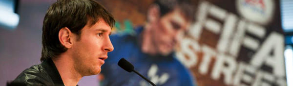 EA Sports and Leo Messi Foundation Announcement
