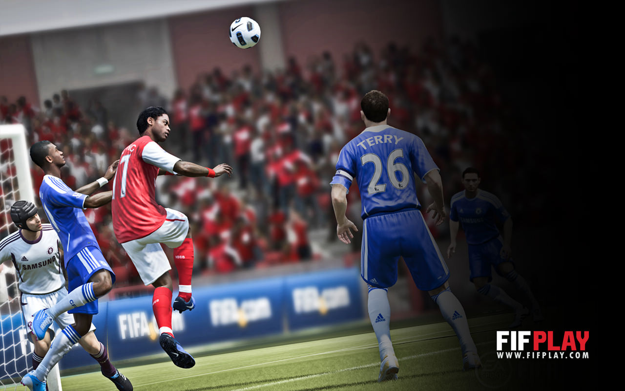 FIFA 12 Wallpaper (Arsenal London - Chelsea FC)
