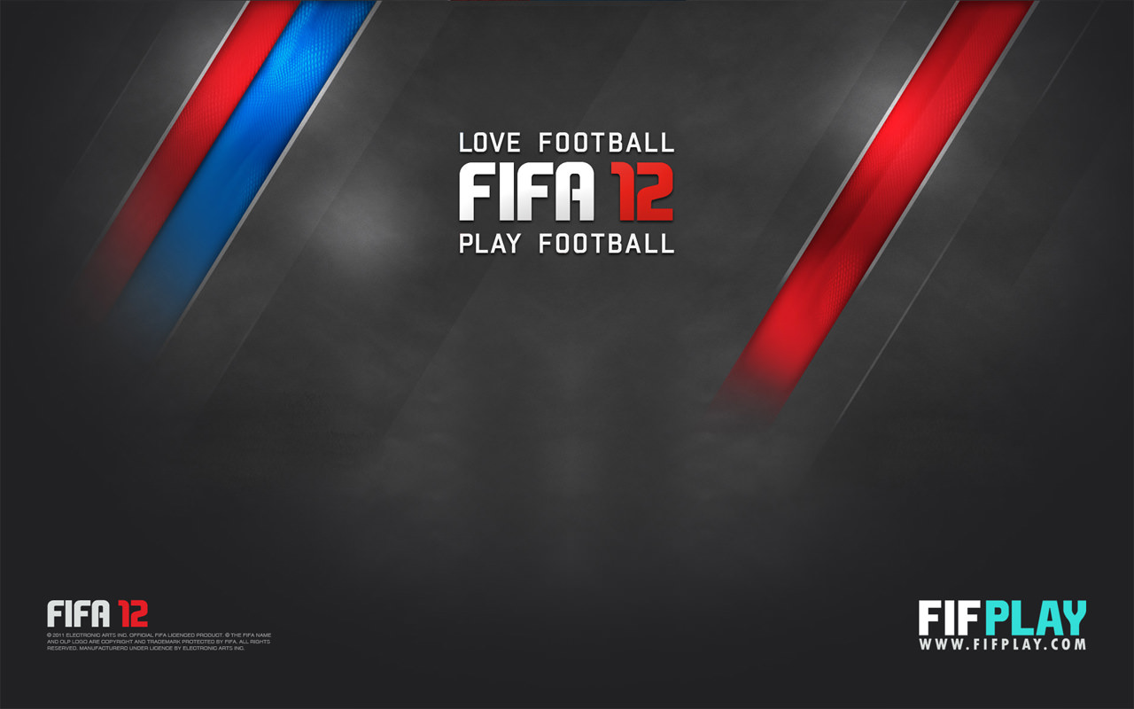 FIFA 12 Wallpaper (Love Football Play Football)