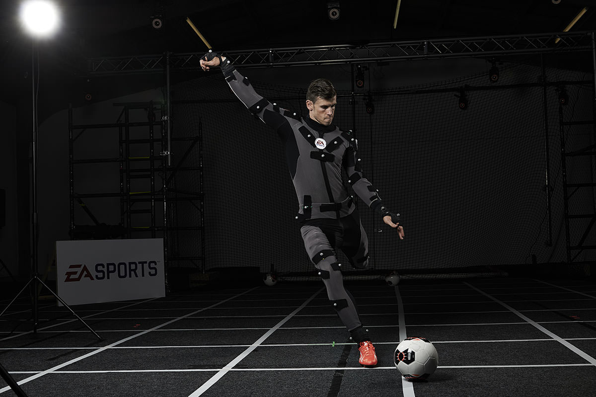 Gareth Bale EA Motion Capture