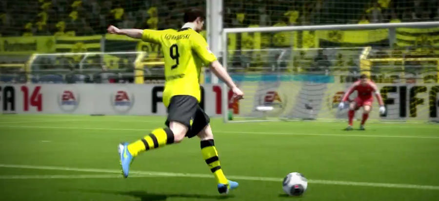 How to create shooting chances in FIFA 14
