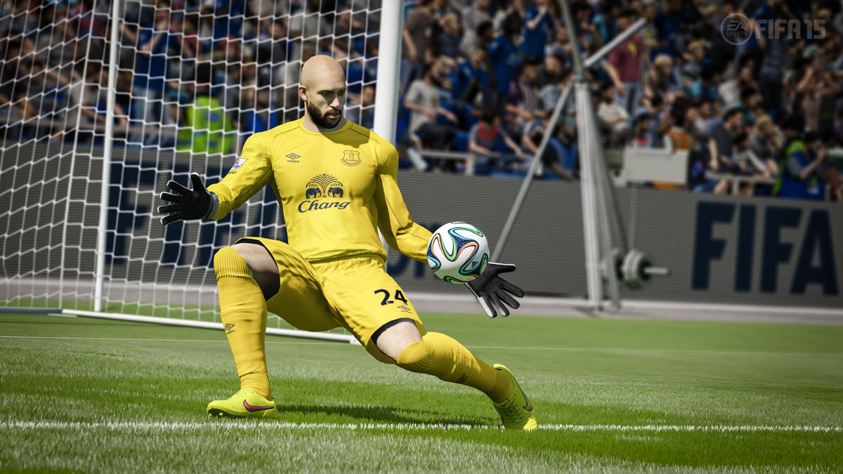 Top 20 Goal Keepers in FIFA 15