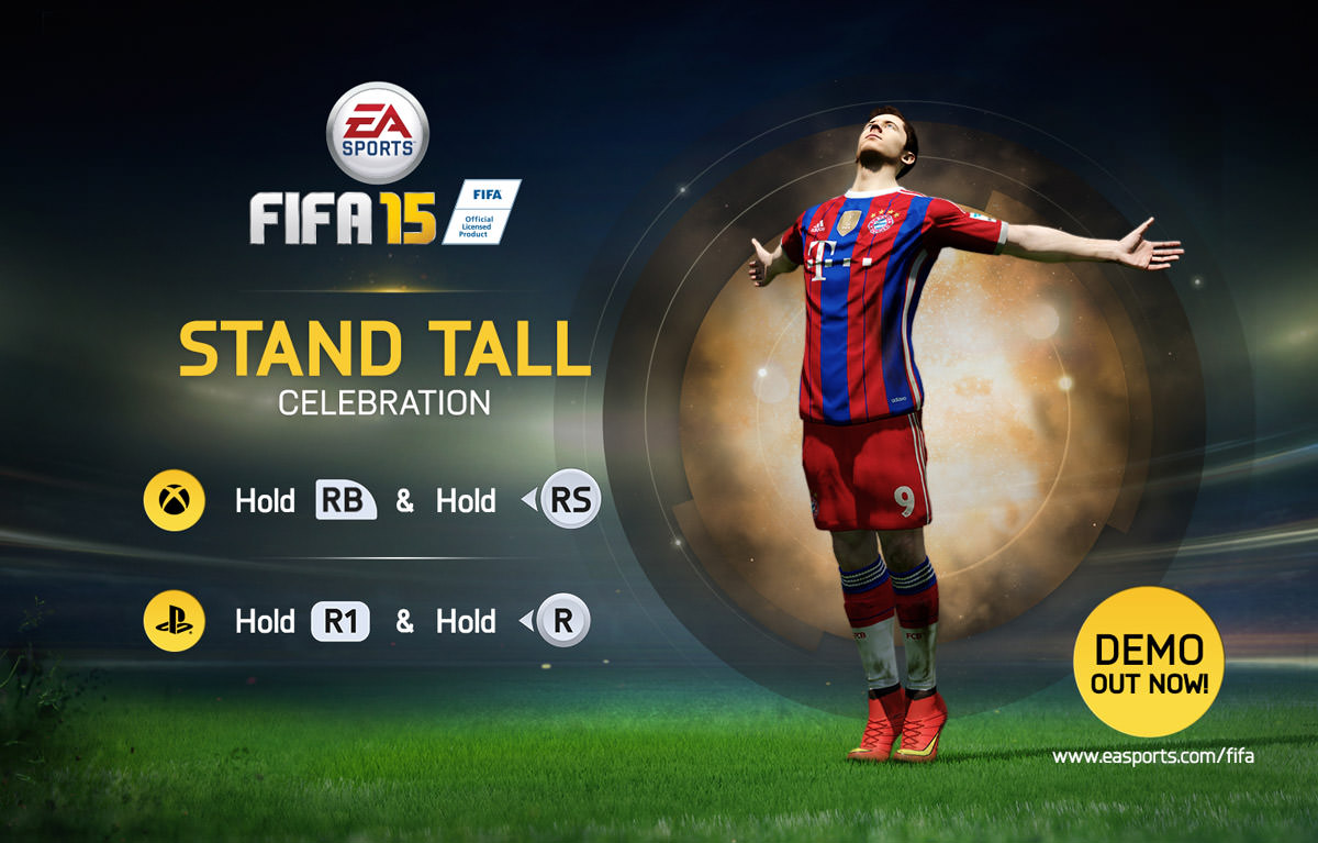FIFA 15 Celebration - Stand Tall