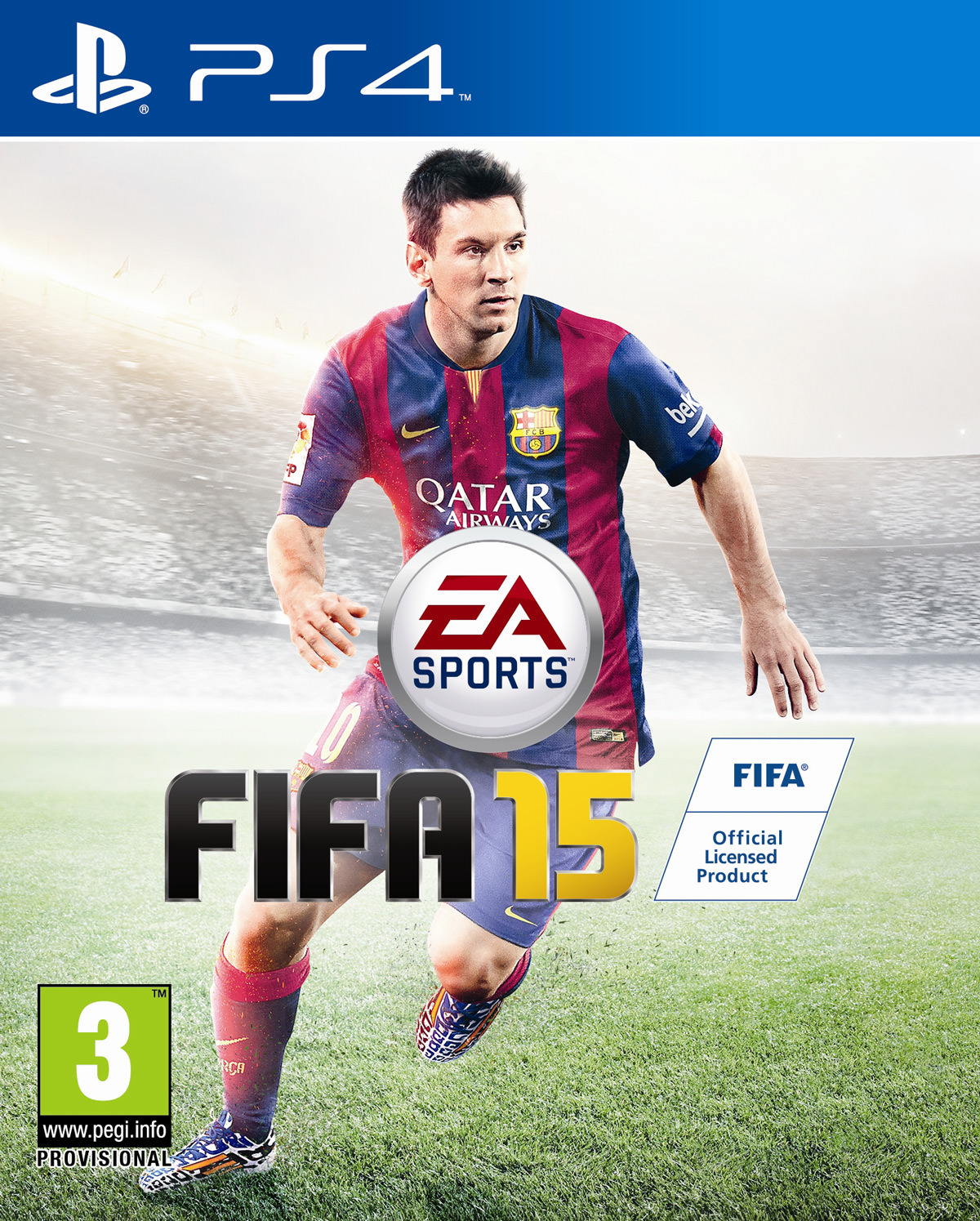 FIFA 15 Cover - PlayStation 4