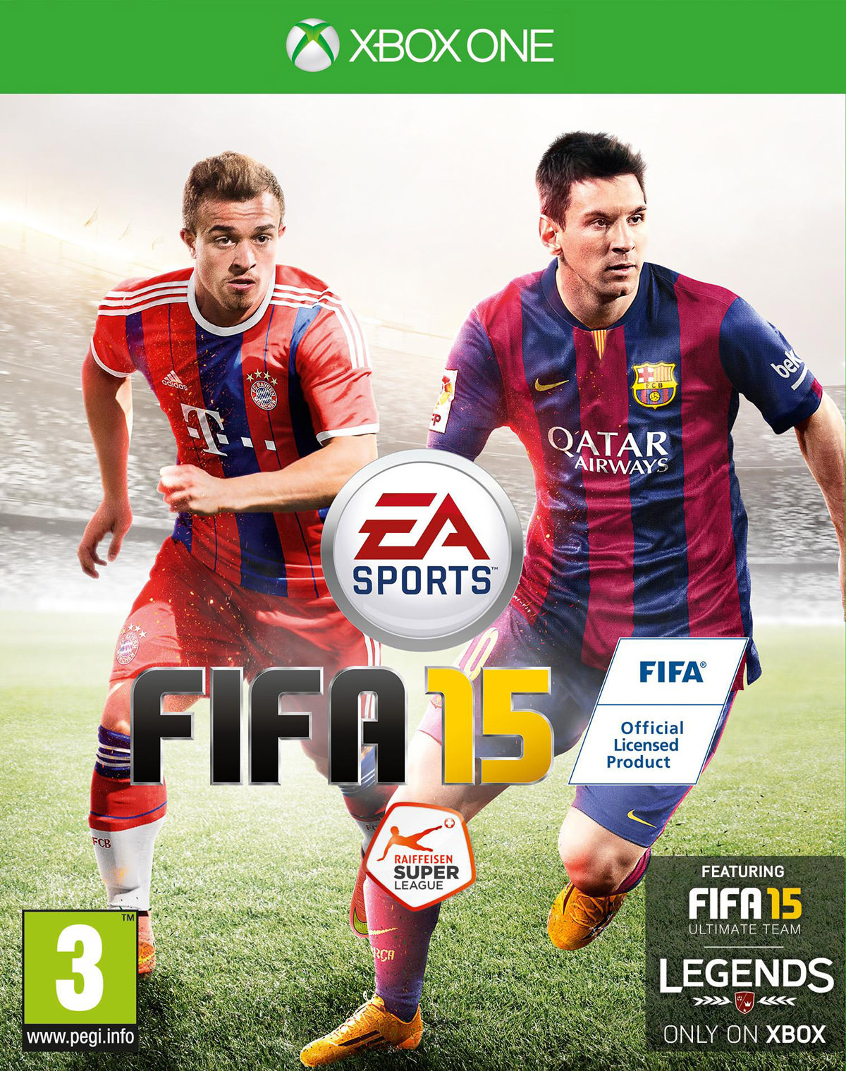 FIFA 15 Cover – Switzerland
