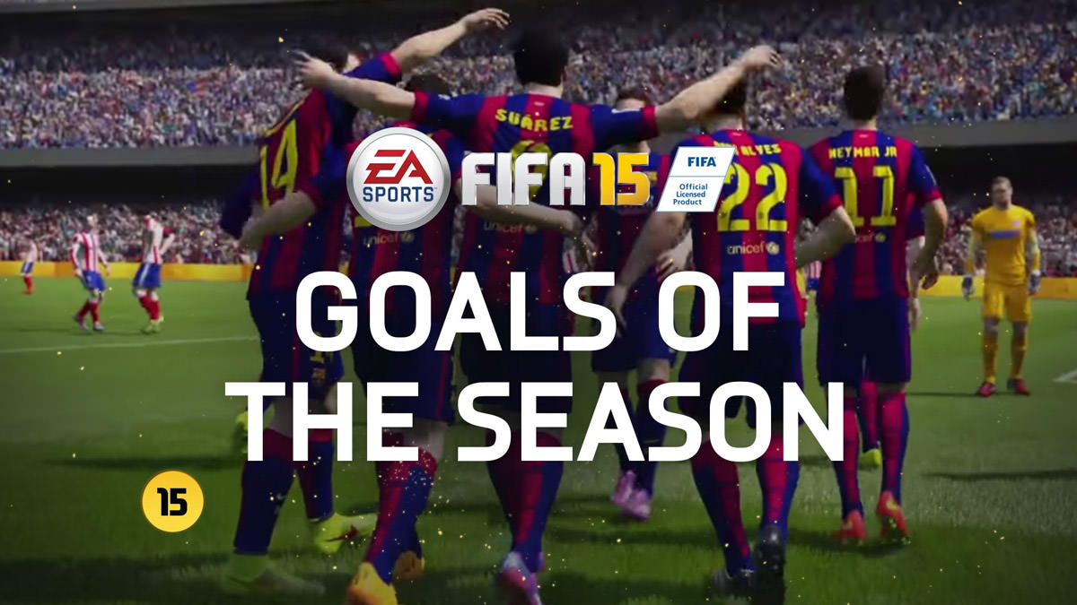 FIFA 15 Goals of the Week 25