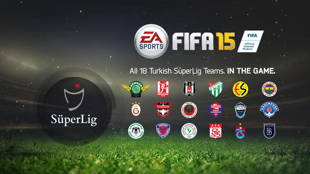FIFA 15 Turkish League