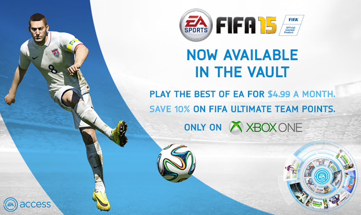 FIFA 15 Now Free for EA Access Members
