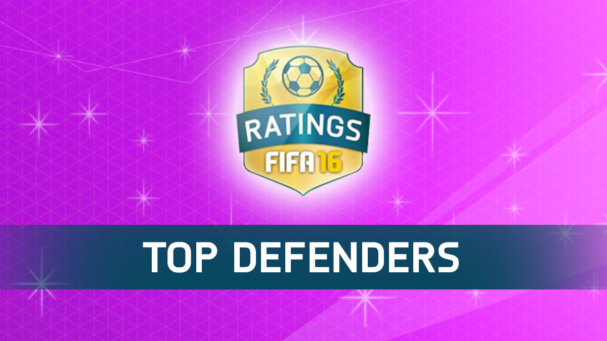 FIFA 16 Top Defenders (Best Defenders)