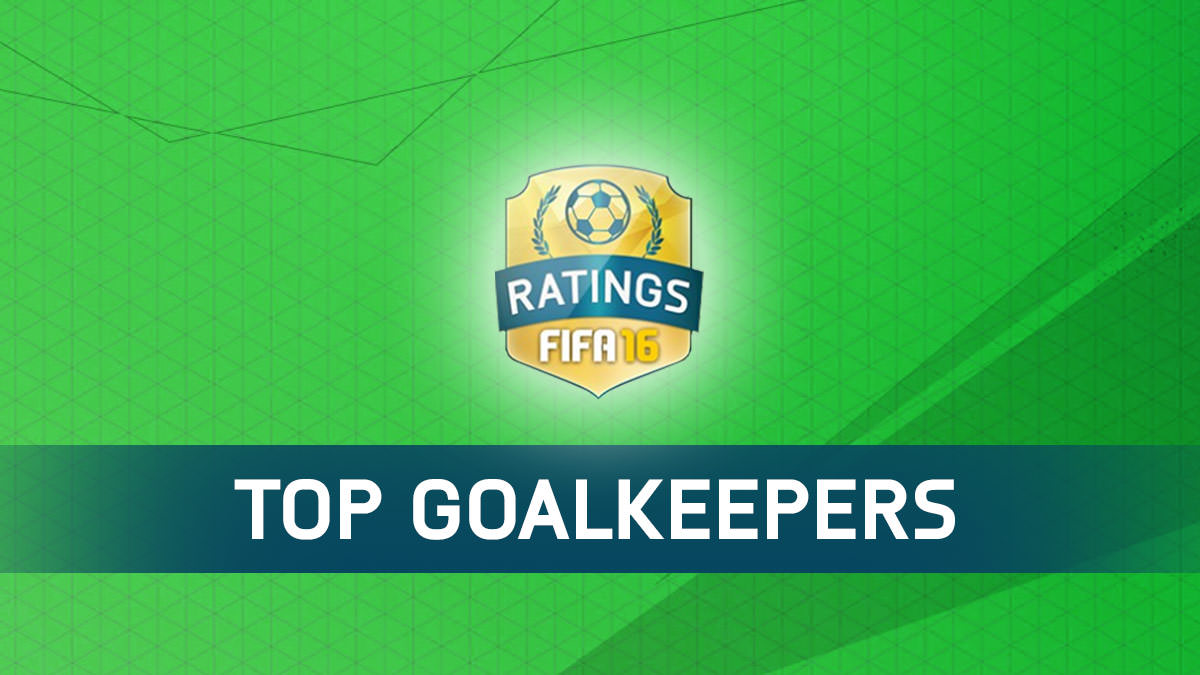 FIFA 16 Best Goalkeepers