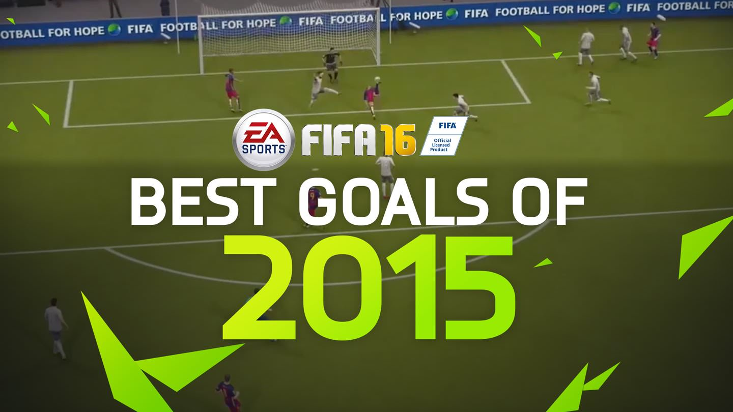 FIFA 16 Best Goals of the Year