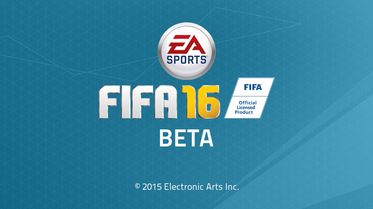 FIFA 16 Closed Beta Download