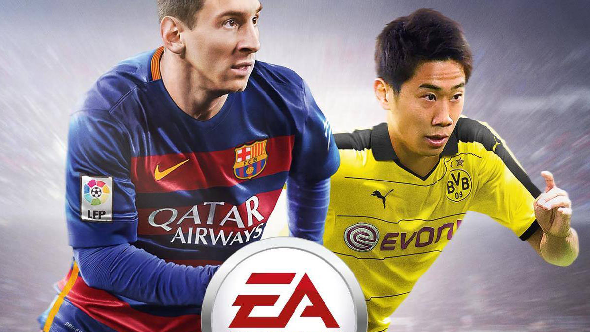 FIFA 16 Japan Cover