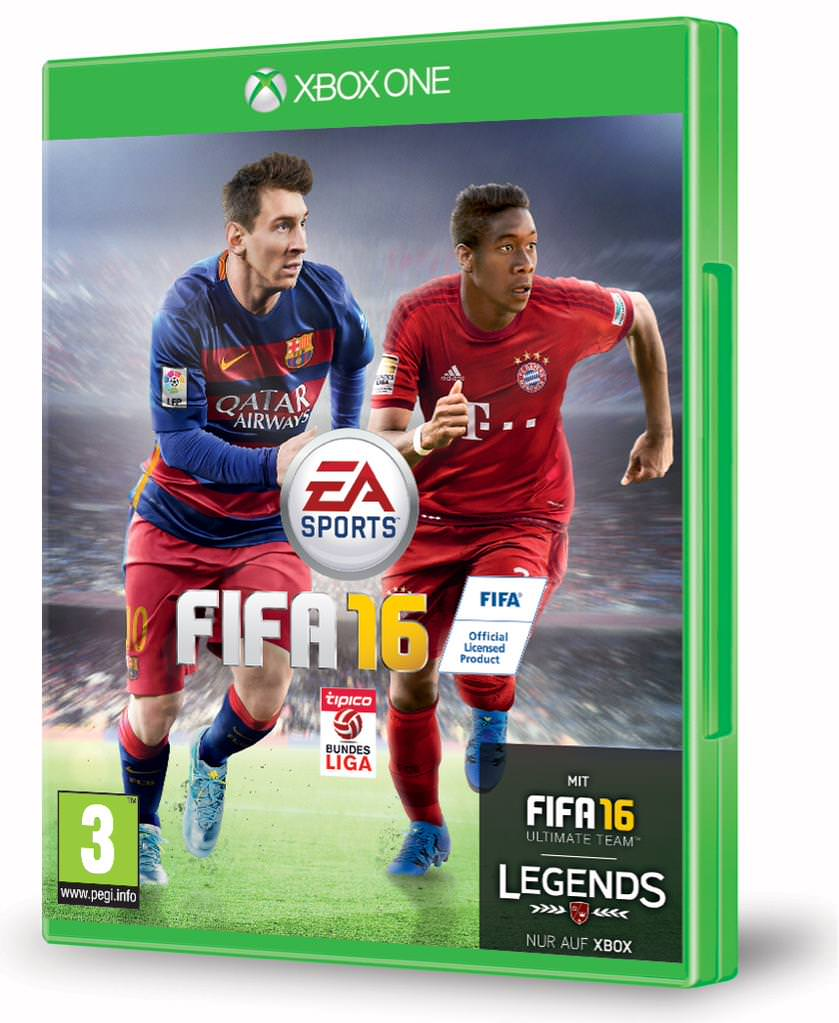 FIFA 16 Austrian Cover Featuring David Alaba
