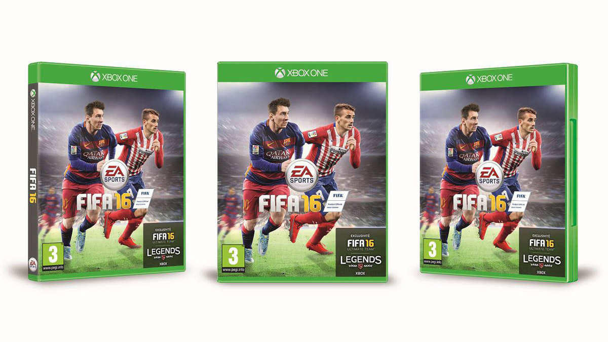 FIFA 16 France Cover
