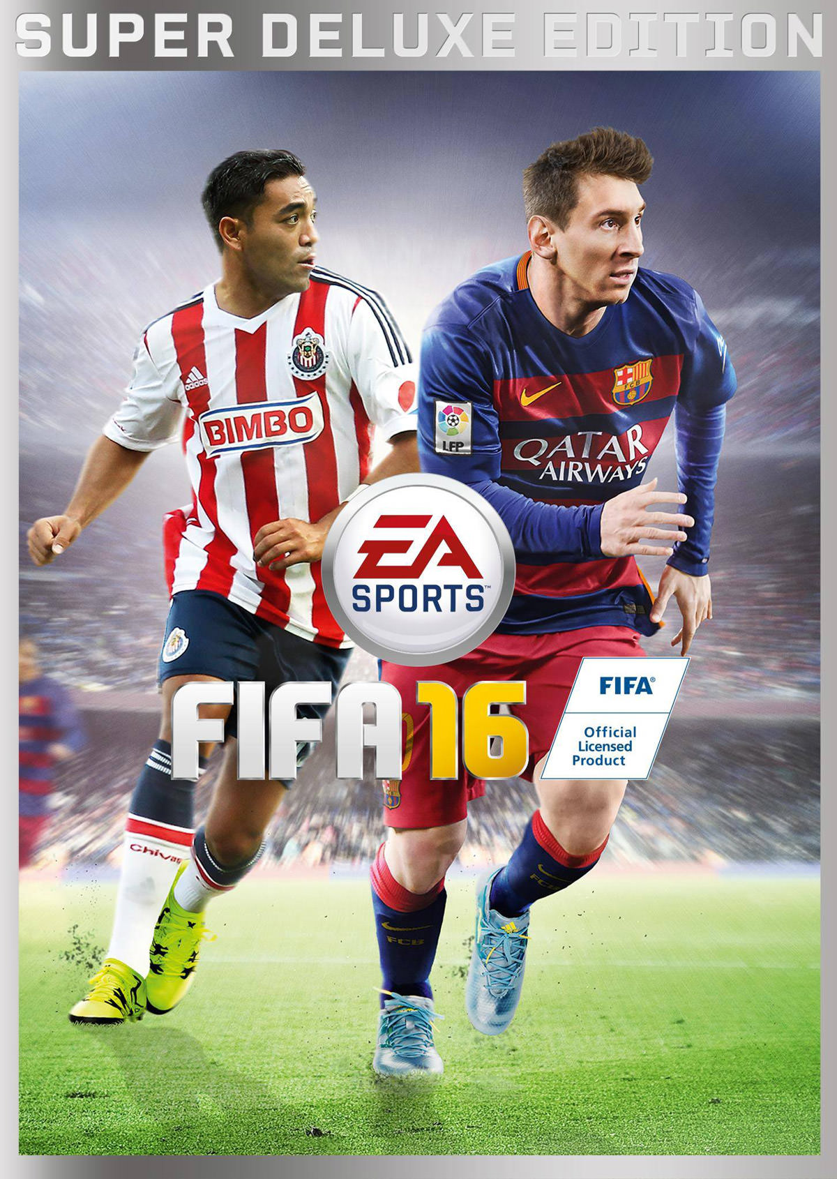FIFA 16 Cover - Mexican Version
