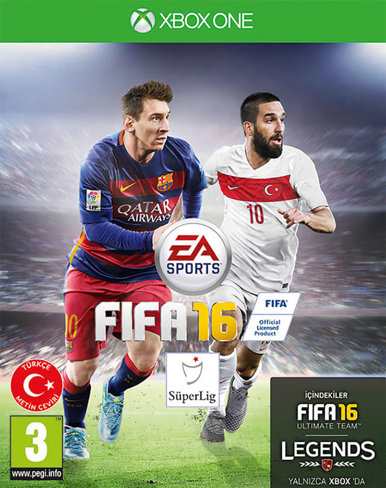 FIFA 16 Turkey Cover