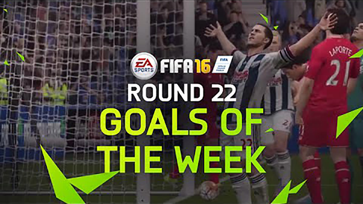 FIFA 16 Goals of the Week