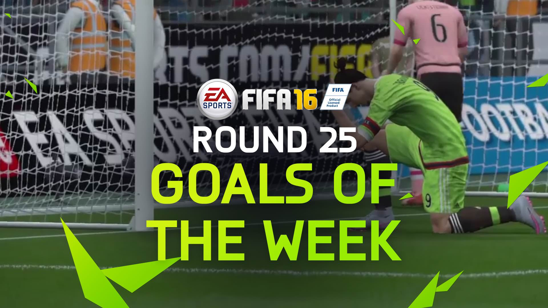 FIFA 16 Goals of the Week 25