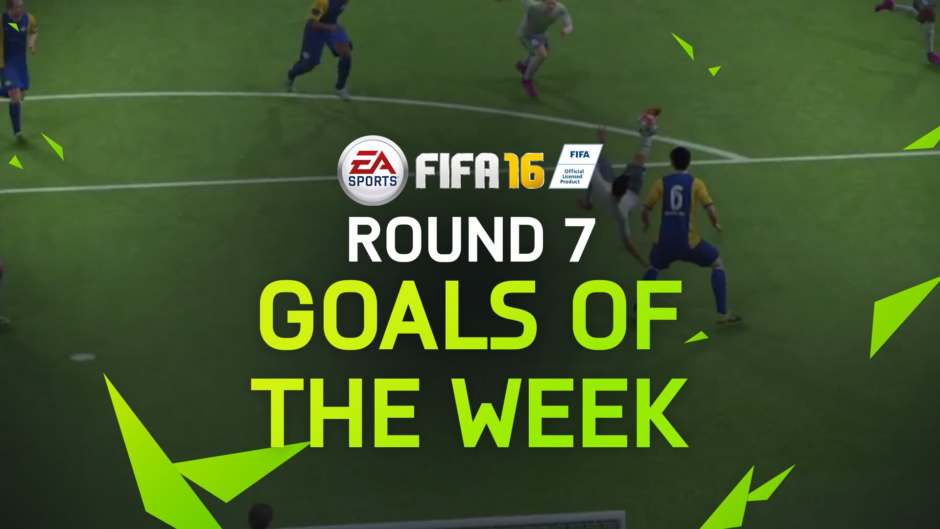 FIFA 16 Goals of the Week 7