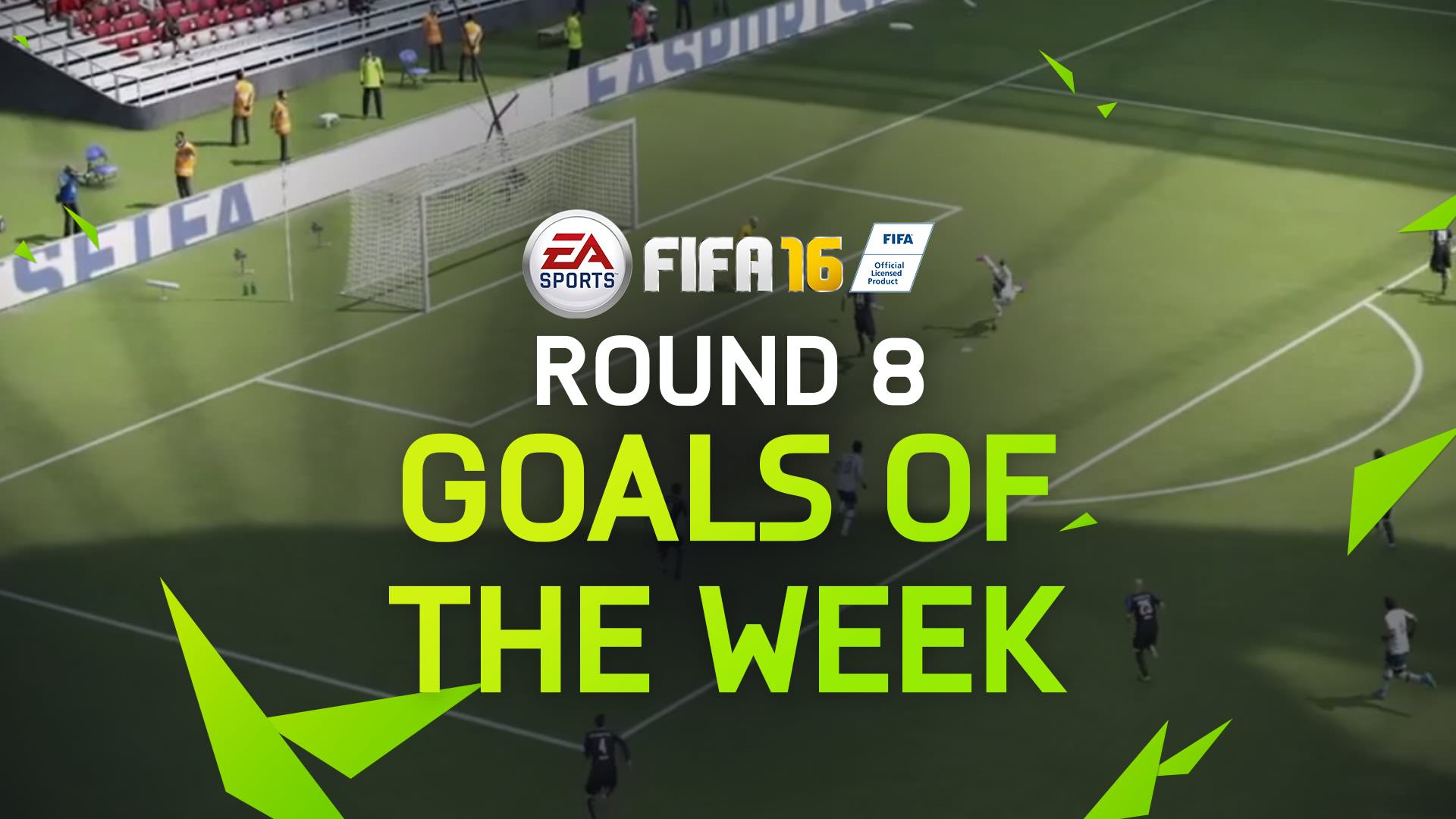 FIFA 16 Goals of the Week 8