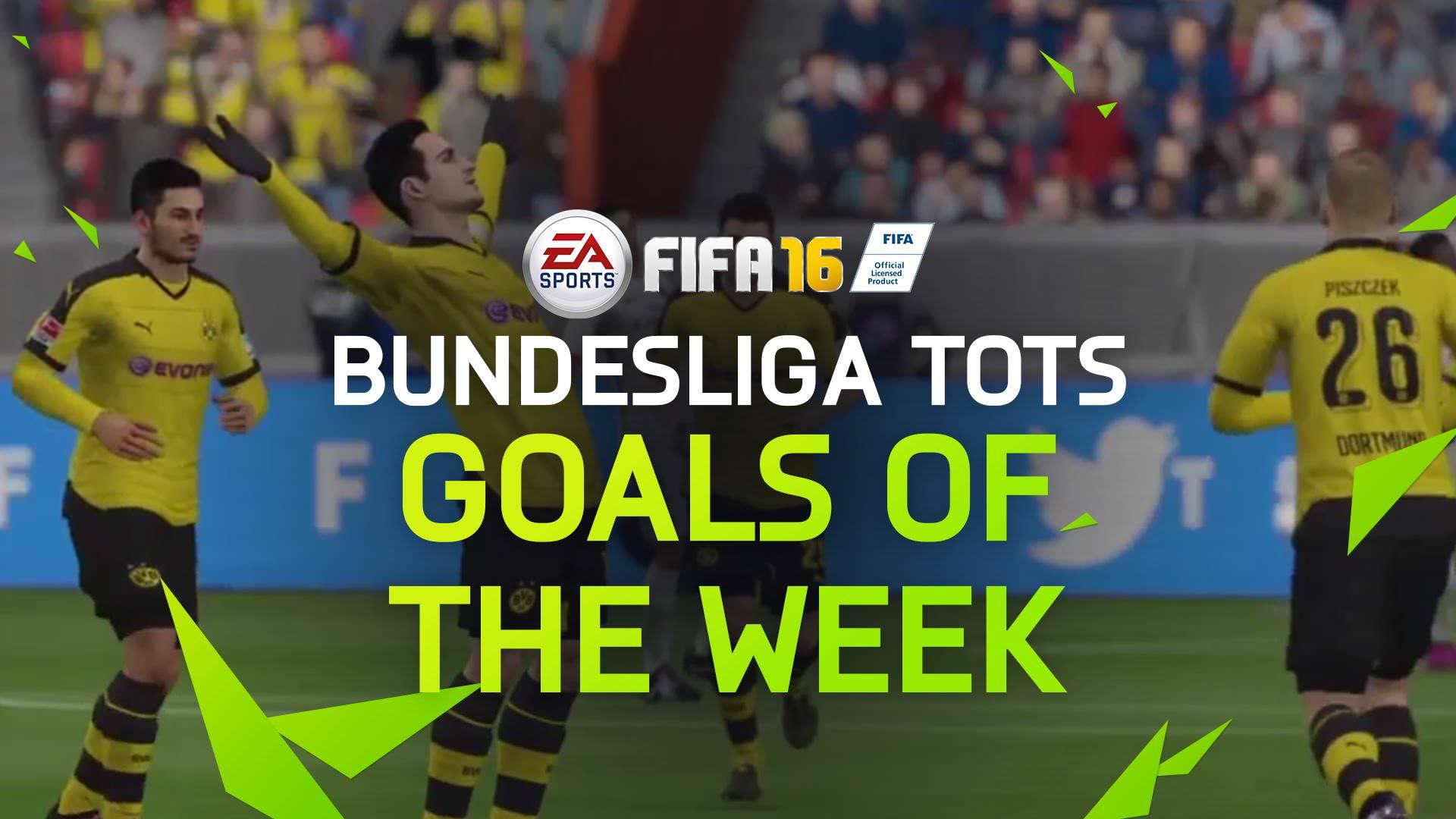 Fifa 16 goals of the week bundesliga team of the season