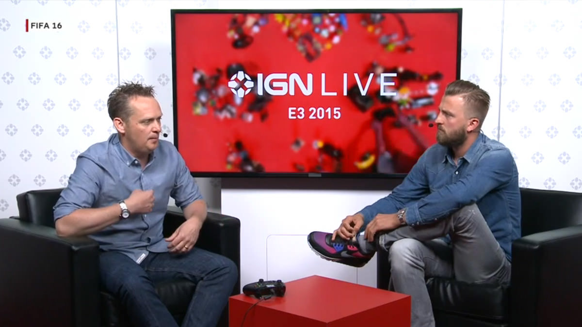 FIFA 16 Demo Shown at E3 by IGN