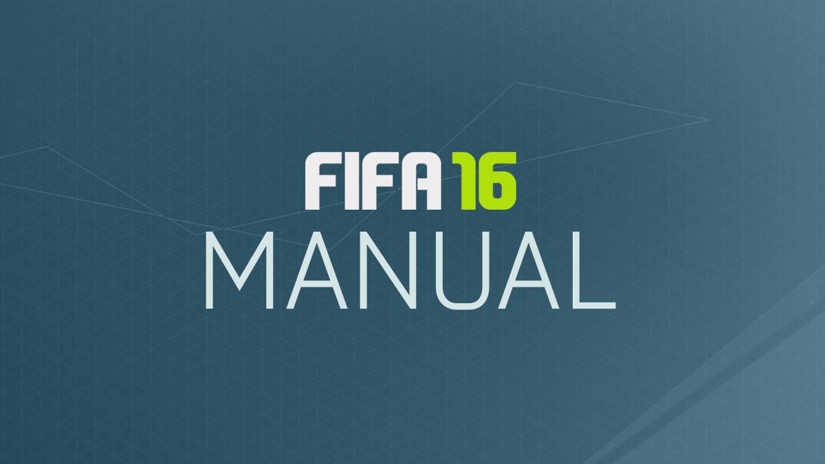 FIFA 16 Manuals