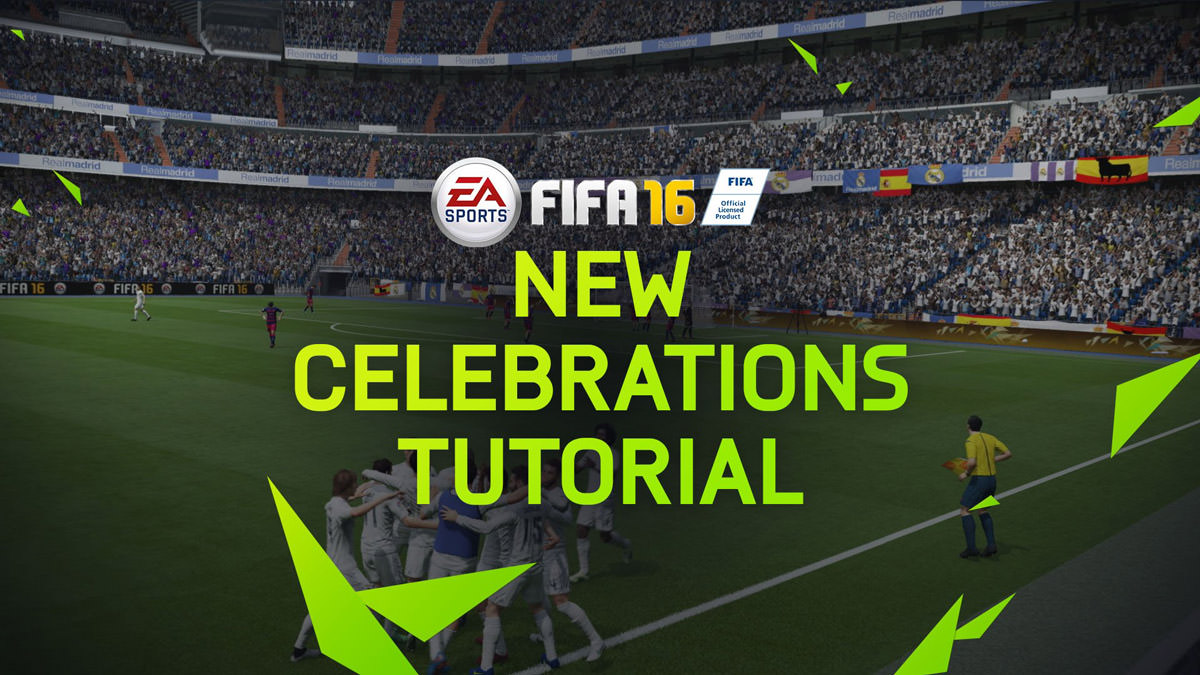 FIFA 16 New Celebrations Tutorial