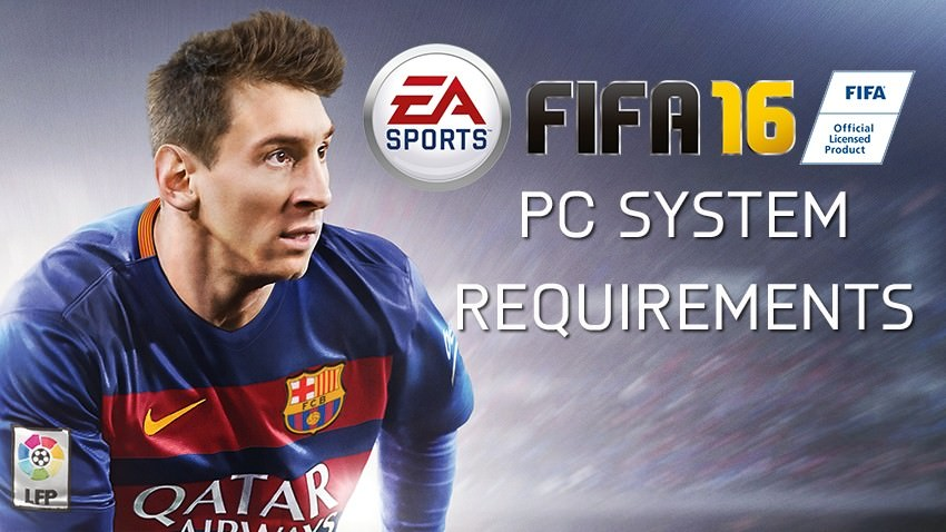 FIFA 16 System Requirements PC
