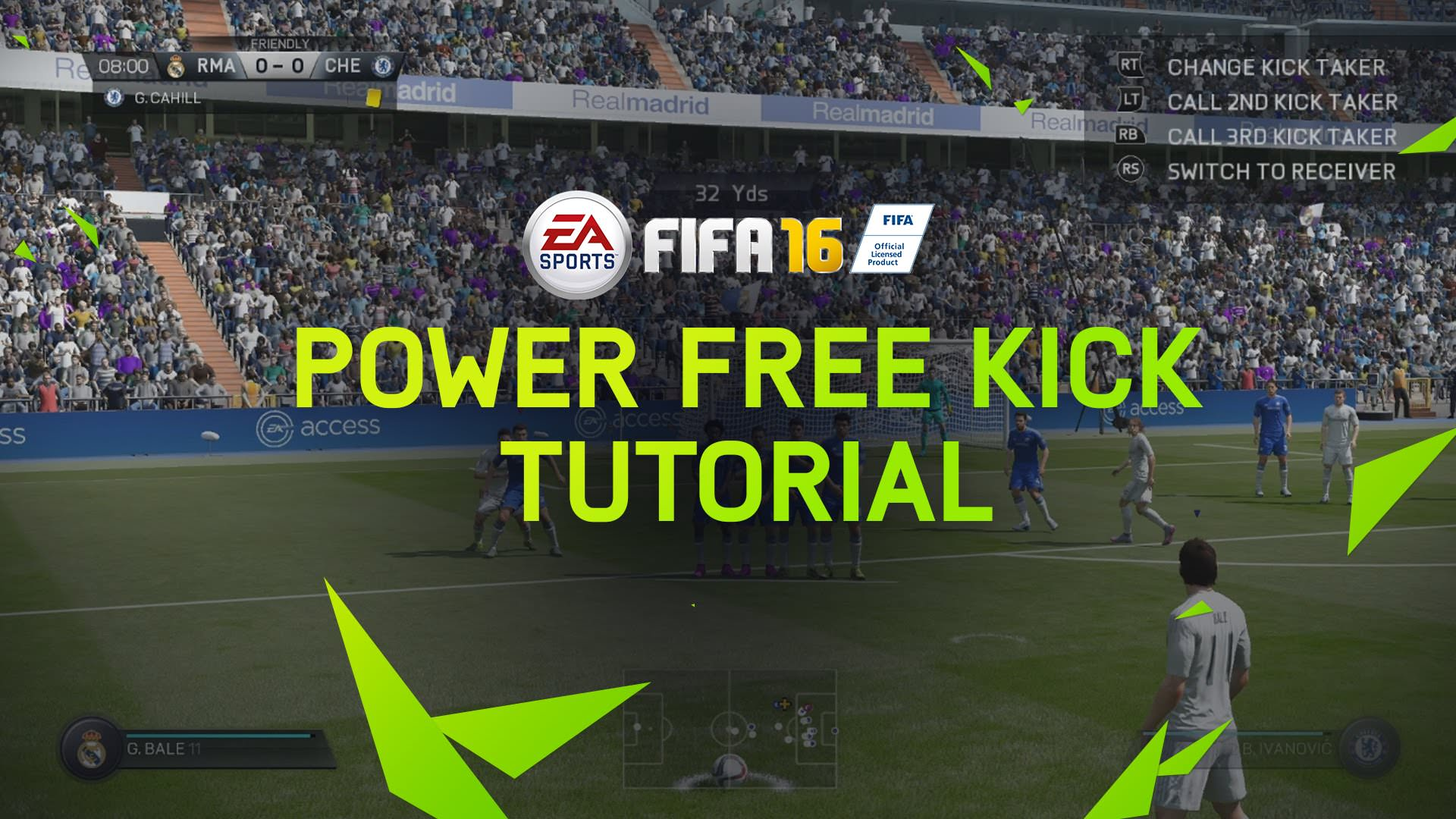 FIFA 16 Tips – Power Free Kicks