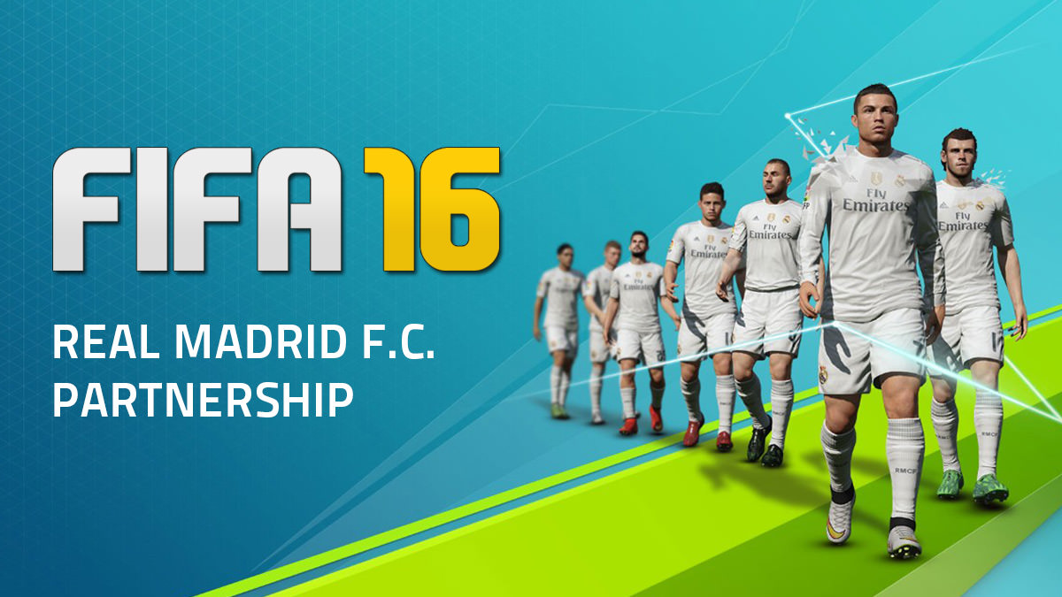 FIFA 16 – Real Madrid Partnership