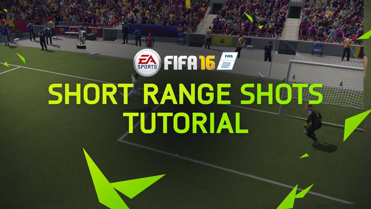 FIFA 16 Tips – Short Range Shots