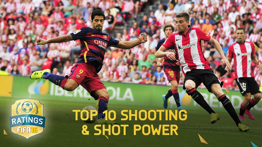 FIFA 16 – Top Shooting and Shot Power