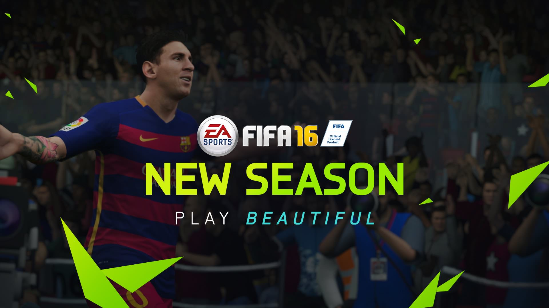 FIFA 16 Gamescom Trailer