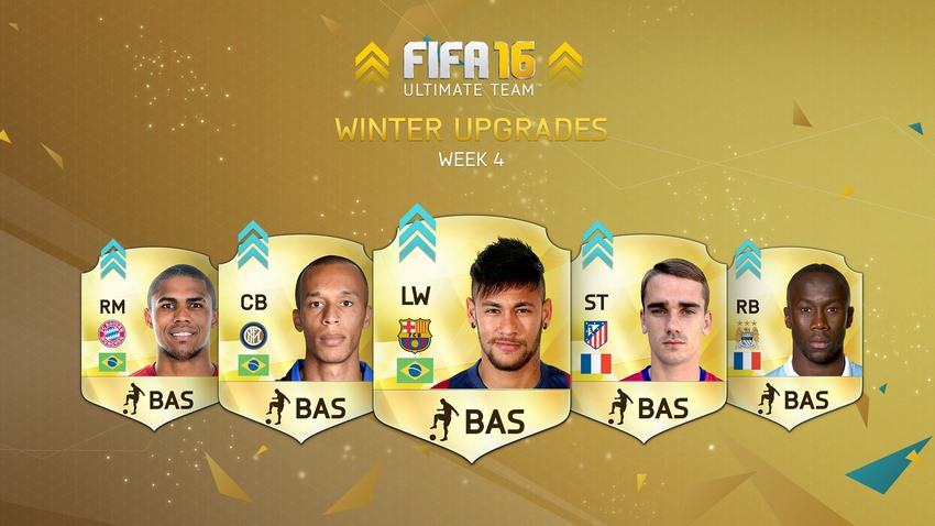 FIFA 16 Ultimate Team Winter Upgrades