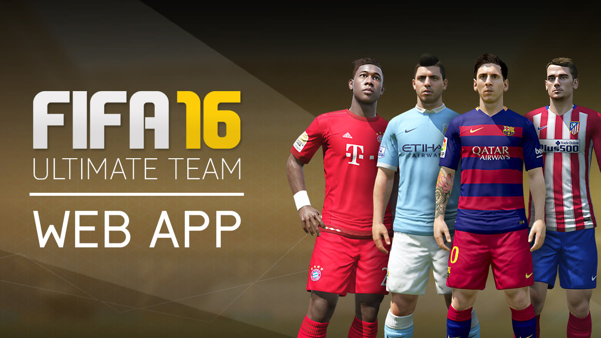 FIFA 16 Ultimate Team Web App
