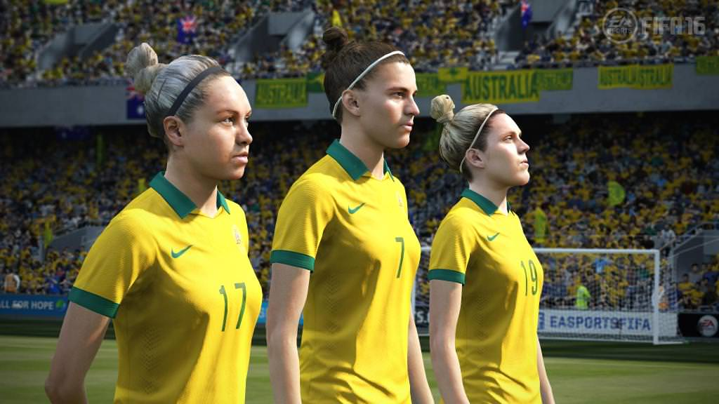 FIFA 16 Screenshots – Women's Teams