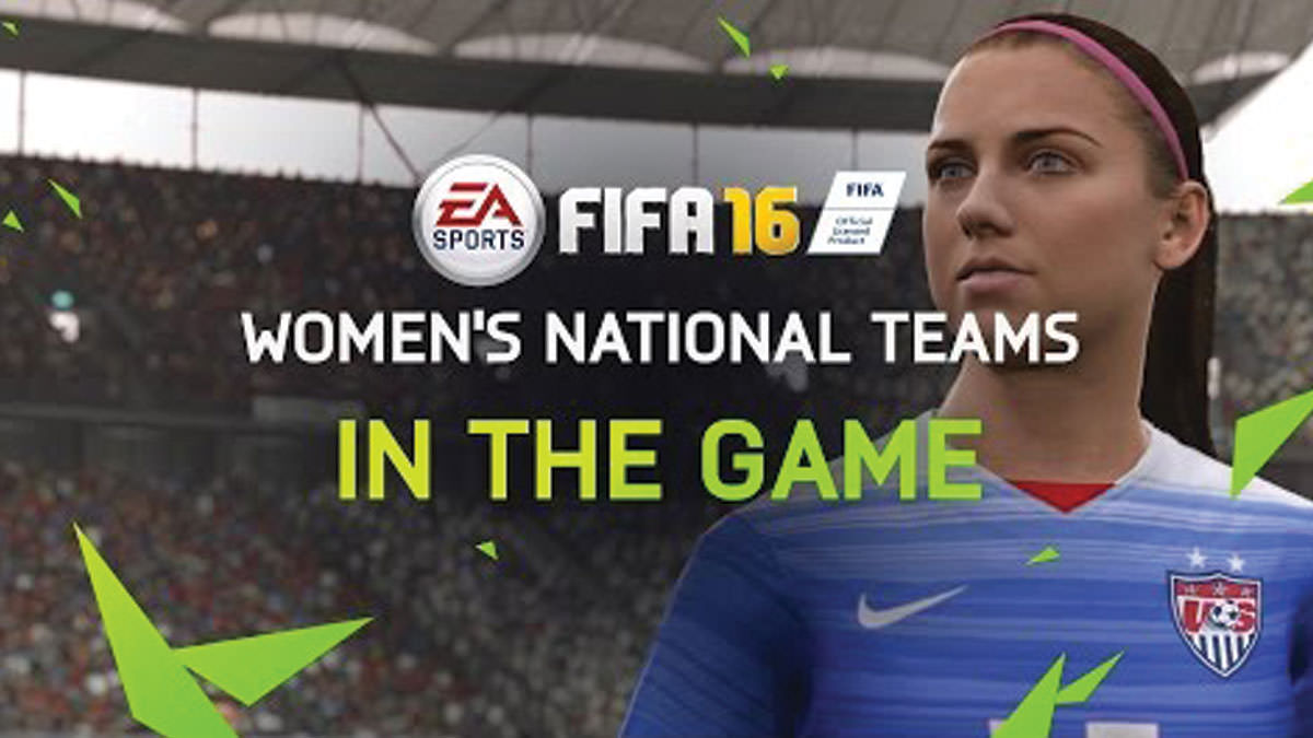 FIFA 16 Will Have Women's National Teams