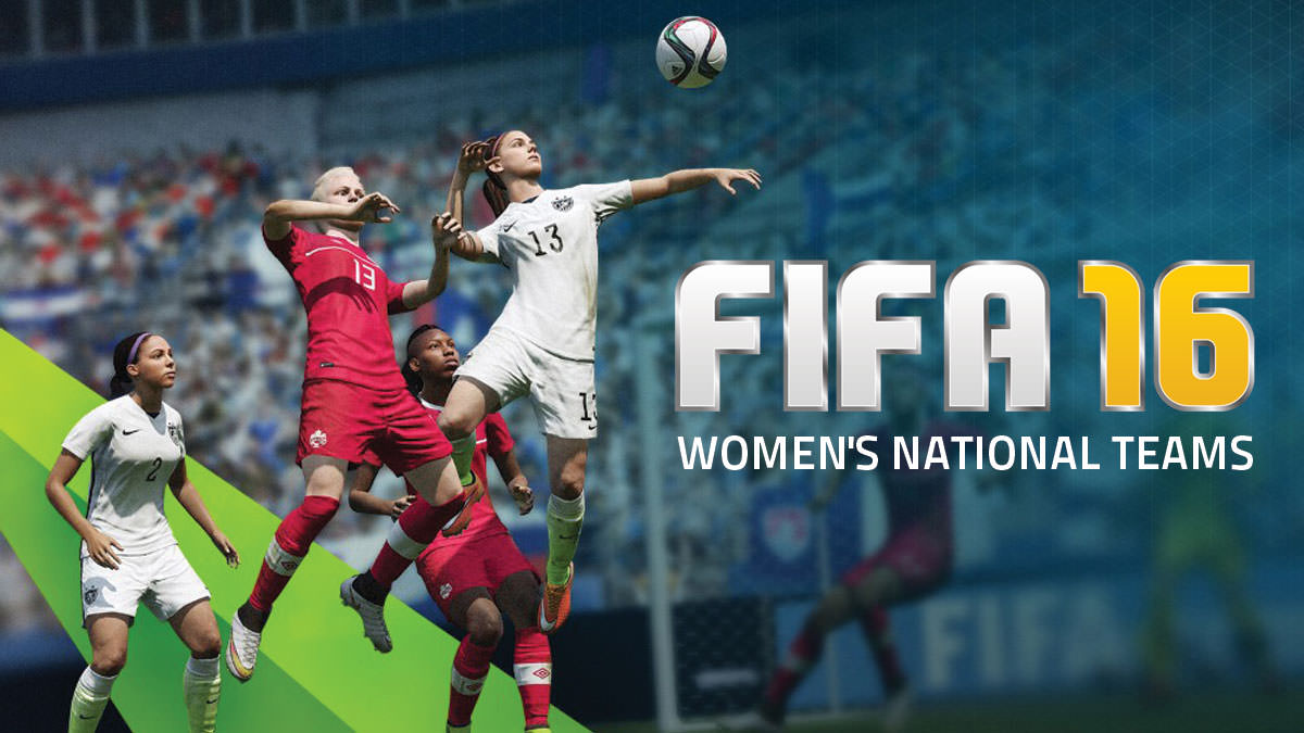FIFA 16 Women's National Teams
