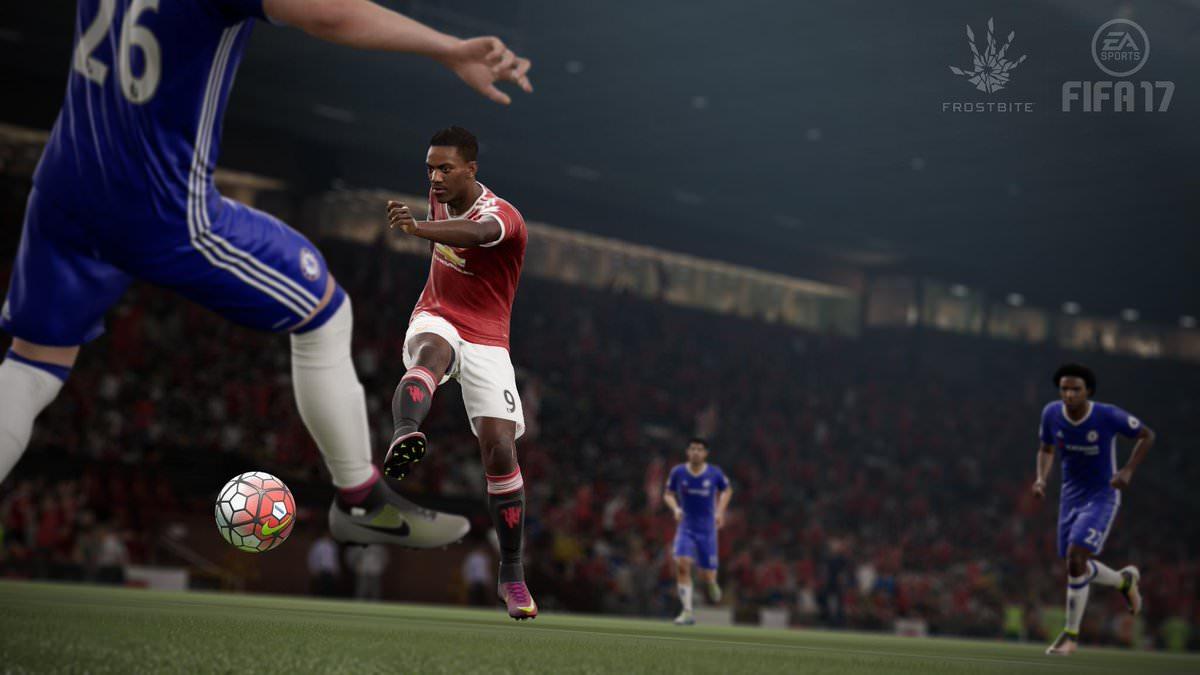 FIFA 17 In Game Screenshot