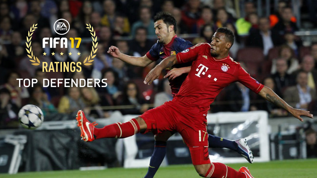 FIFA 17 Best Defensive Players