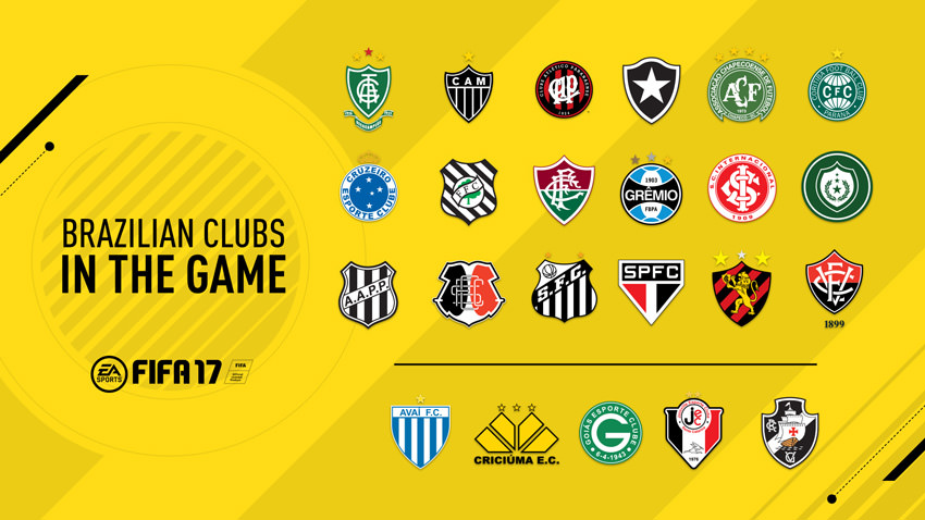 FIFA 17 Brazilian League