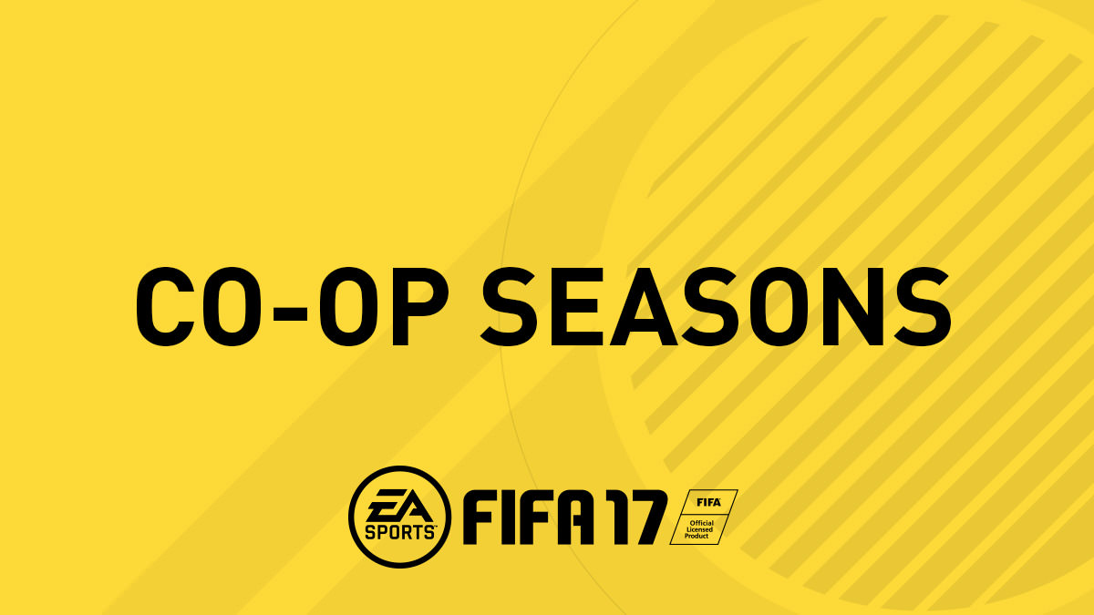 FIFA 17 Co-op Seasons