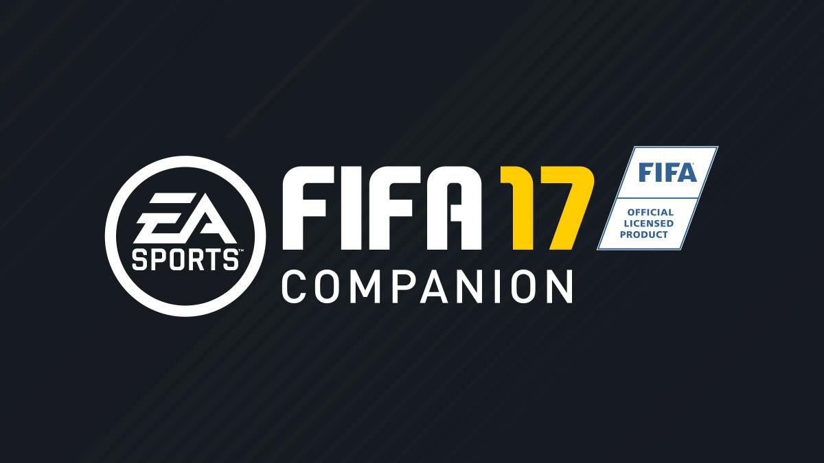 ea sports fifa 17 companion